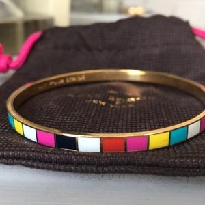 Kate spade multi colored bangle